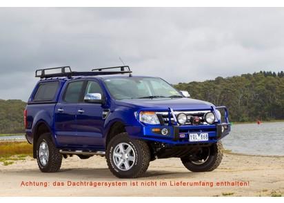 Standard Hardtop für Ford Ranger 12-> 2AB DC flach, glatt, seitl. Schiebefen.