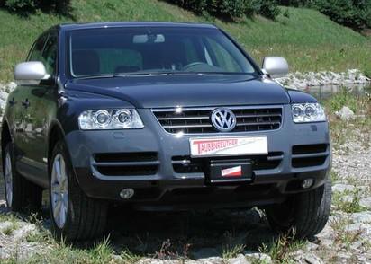 Windenanbausatz VW Touareg I, alle Modelle, bis Modelljahr 09
