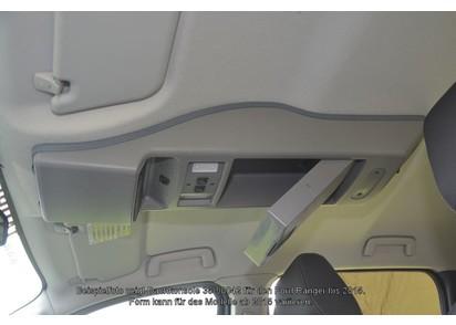 Dachkonsole Ford Ranger MK2 ab 15, Doppelkabine, grau