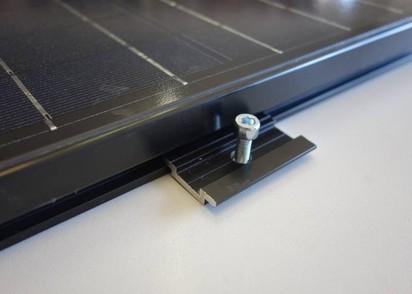 IBS Montageclips aus Aluminium für MCF40 & MCF80, (4 Stk.)