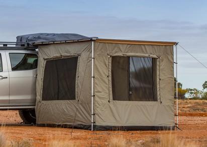 ARB Markisenzelt 2500x2100,für Touring 4-seitig, mit Boden, 2 Fenster