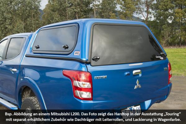 Standard Hardtop für Mitsubishi L200 ab 15 Doka flach, mit Schiebefenster