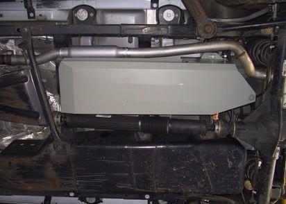 Zusatztank Jeep Wrangler JK ab 12/11 4-trg.,Benzin, 68l, 3.6l Pentastar