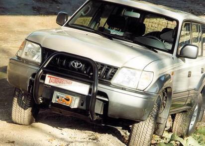 Seilwinden Set Toyota LC J9 mit WARN XD9000