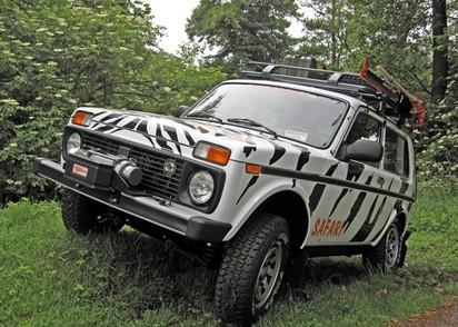 Windenanbausatz Lada Niva für WARN CE-M6000, 8000