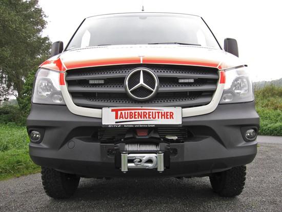 Windenanbausatz Mercedes Sprinter, BJ ´06-18 & VW Crafter ->12/16 n