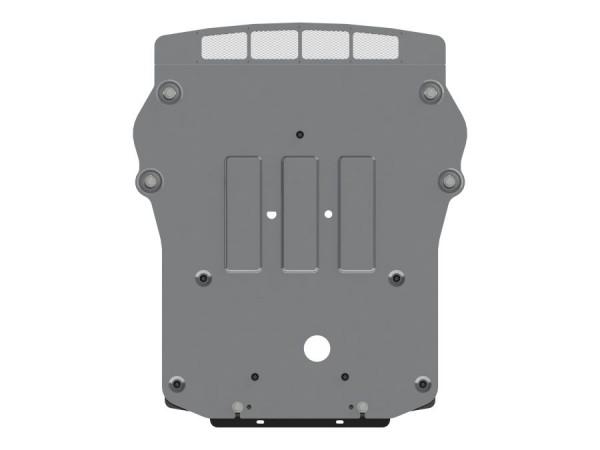 Unterfahrschutz BMW X5 M50d, Bj. 13- (F15), Motor, 4mm Alu gepreßt