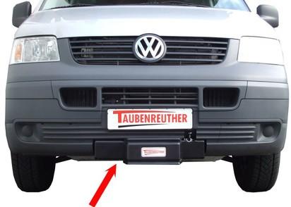 Seilwinden Set VW T5 2,5l TDI bis 2010, inkl. WARN XD9000