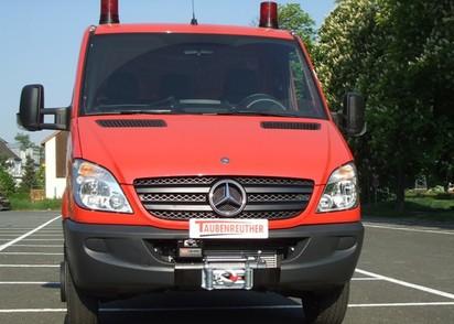 Seilwinden Set Mercedes Sprinter + VW Crafter ab 06-01/13 mit WARN XDC