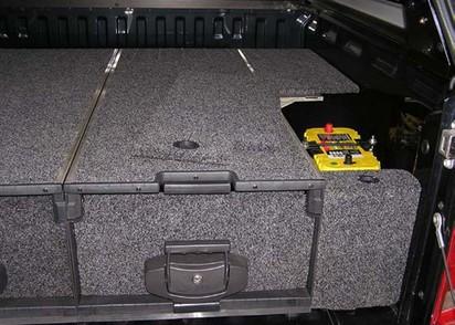 Abdeckung Outback Schublade seitlich VW Amarok