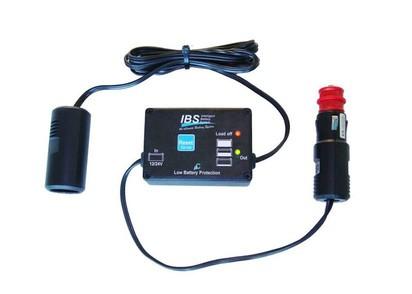 IBS Tiefentladeschutz mit Micro prozessor, 8A, für Zigarettenanzünder