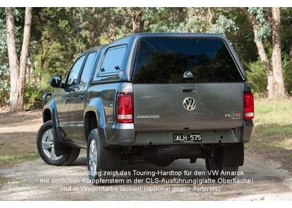 Basic Hardtop für VW Amarok Doka V6 ab 16, flach seitlich geschlossen