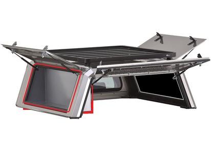RSI Staubox seitlich für SmartCanopy Doppelkabine und XtraCab, ohne Zubehör