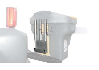 Schaufelhalterung f. 3 Schaufeln / Besen (nur für gerade Stiele, max. 40mm Ø)