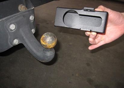 Adapter für Kugelkopfkupplung groß, VW Amarok