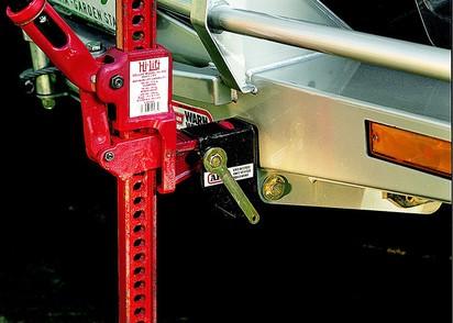Hi-Lift Aufnahme zum sicheren Halt, für ARB-Stoßstange