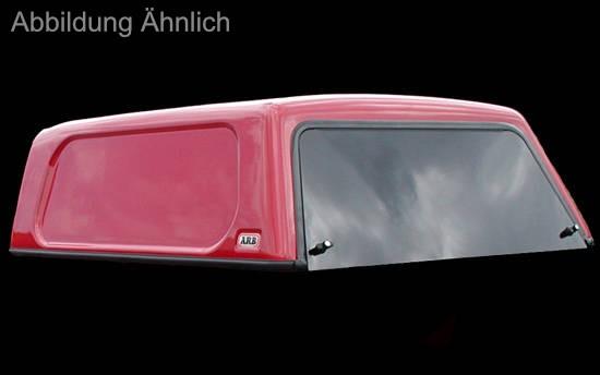 Basic Hardtop für Renault Alaskan Doka, flach, seitlich geschlossen