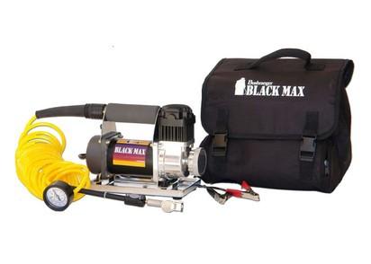 Bushranger Black Max Kompressor 12V mit Batterieklemmen, 40 LPM bei 2 BAR