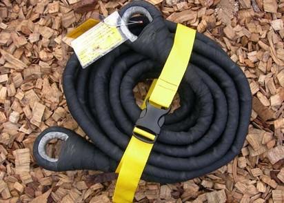 ARB Black Snake Snatch Strap 10m, 8 t Bruchlast