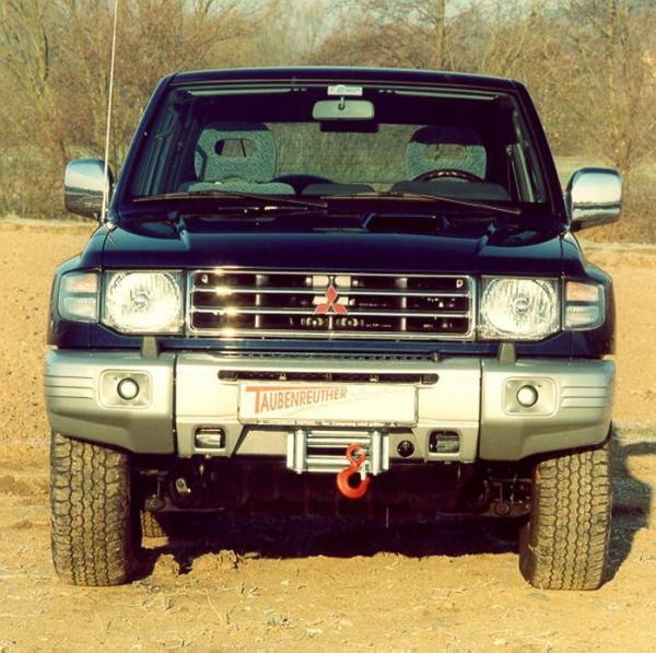 Windenanbausatz PajeroV20/L040 nur Modelle m. Schraubenfedern
