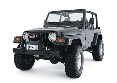 Windenanb. Jeep Wrangler TJ für M8274-50, Stahl schwarz *TN*