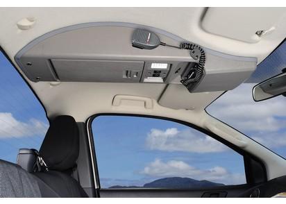 Dachkonsole Ford Ranger MK2 ab 15, Einzelkabine, grau
