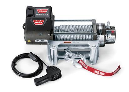 Seilwinde WARN M8000 12V 3.600 kg Zugkraft