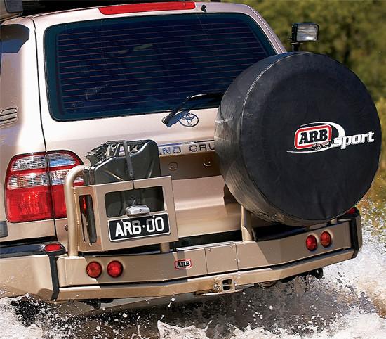 ARB Heckstoßstange Toyota J105 Starrachse, schwarz