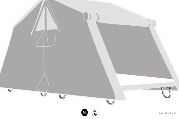 Bodenstandfüsse Air-Camping/Overland