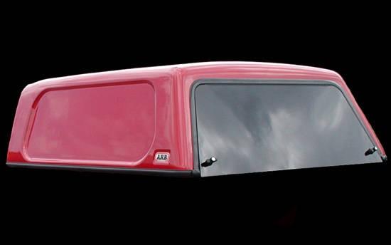 Basic Hardtop für VW Amarok DC flach, genarbt, seitlich geschlossen