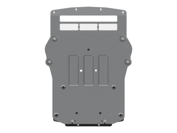 Unterfahrschutz BMW X5 M, X6 M Bj. 13- (F15, F16), Motor, 4mm Alu gepreßt