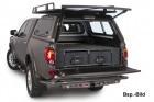 Abdeckung Outback Schublade seitlich Nissan D40 Doppelkabine, Thai. Modell