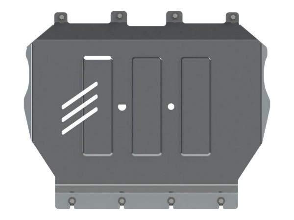 Unterfahrschutz Mercedes GLC, Bj. 15- (204X, X253), Motor, 4mm Alu gepreßt