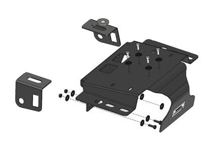 ARB Kompressor Montagekit Jeep Wrangler JK, für alle ARB Kompressoren