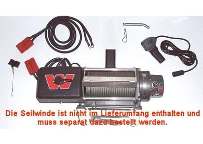 Multimount Trägerset, inkl. Kabelsatz, - 3.6 to. Zugkraft, m. 2m Anschlusskabel