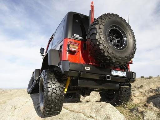 ARB Anhängekupplung für Heckstoßstange Jeep Wrangler TJ