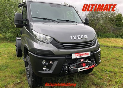 Seilwinden Set Iveco Daily 4x4 ab 2019, inkl. Zeon 12 Platinum