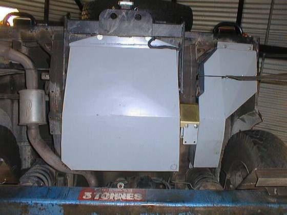 Ersatztank Rover Defender 110 u. 130 TD5 u. TD4, 127l