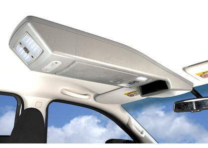 Dachkonsole Nissan Navara NP300 D23 ab 06/15 ->, Doppelkabine, grau