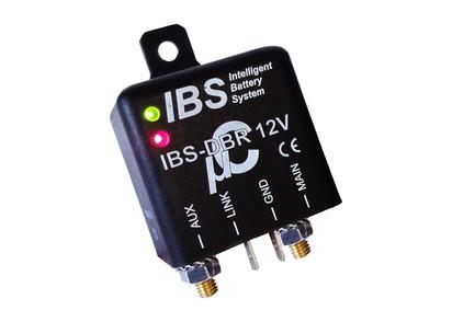 IBS Doppelbatterie-Relais IBS-DBR-LI, 12V, für Li-ion Akku