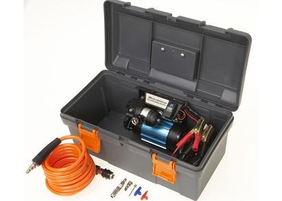 ARB-Kompressor 12-Volt, CKMA im Koffer, inkl. Zubehör, 6 m Luftschlauch