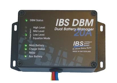 IBS-DBM Doppelbatteriesystem, 20A 12/12V und 24/12V (besonders für Euro 6 Fzg.)