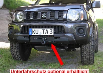Seilwinden Set Suzuki Jimny Benziner bis 2018, inkl. WARN VRX 45-S